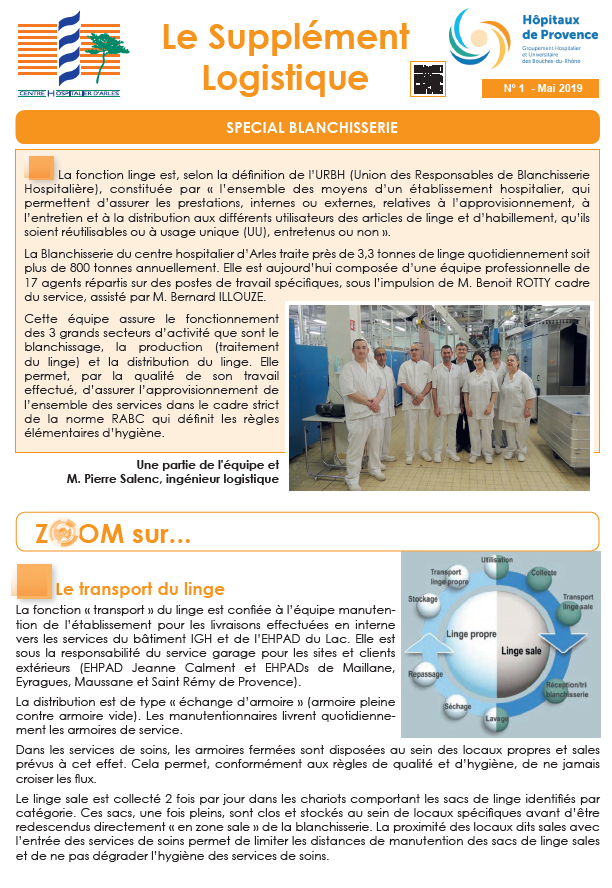 LA MAI 2019 SUPPLEMENT logistique
